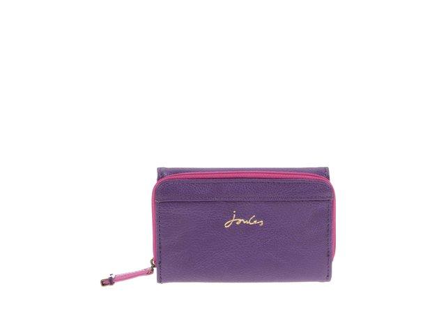 Růžovo-fialová koženková peněženka Tom Joule Piccadily