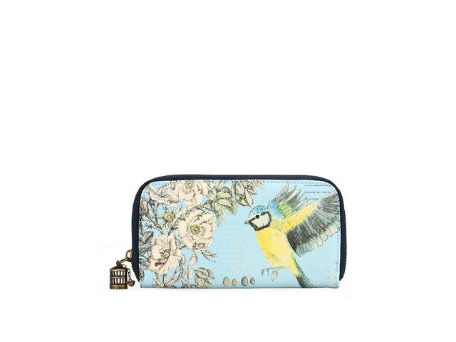 Romantická peněženka s ptáčky Disaster The Aviar