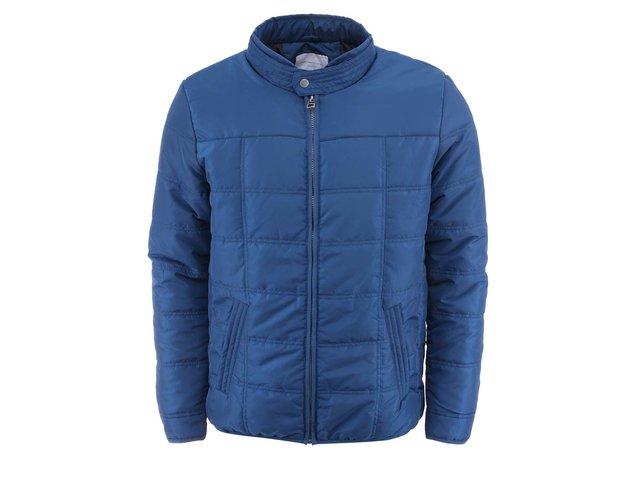 Modrá prošívaná bunda Selected Hugh