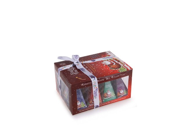 Bio čaje v dárkovém balení English tea shop Červený Santa