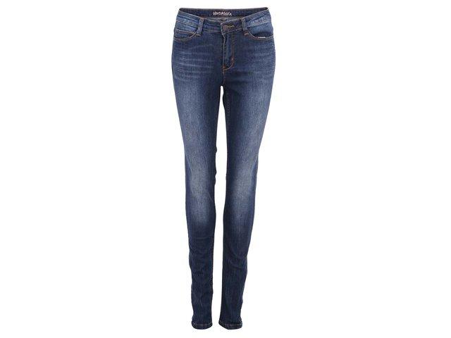 Tmavě modré skinny džíny Vero Moda Wonder