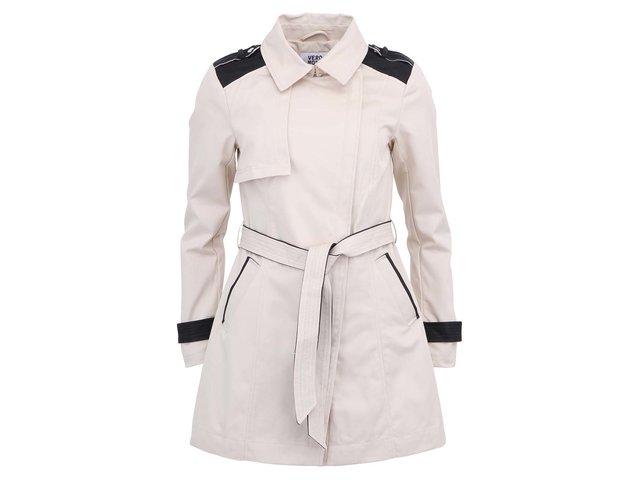 Béžový kabát Vero Moda Web