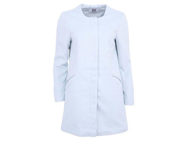 Bledě modrý kabát Vero Moda Money