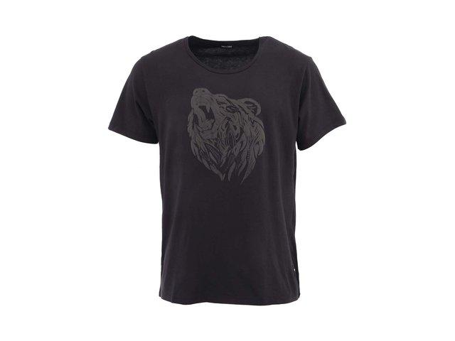 Černé pánské tričko s potiskem ONLY & SONS Bear