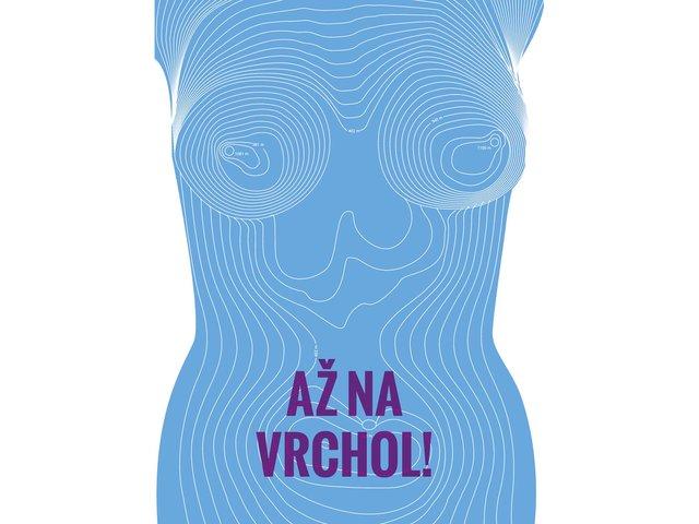 Modrý plakát ZOOT Originál Až na vrchol!