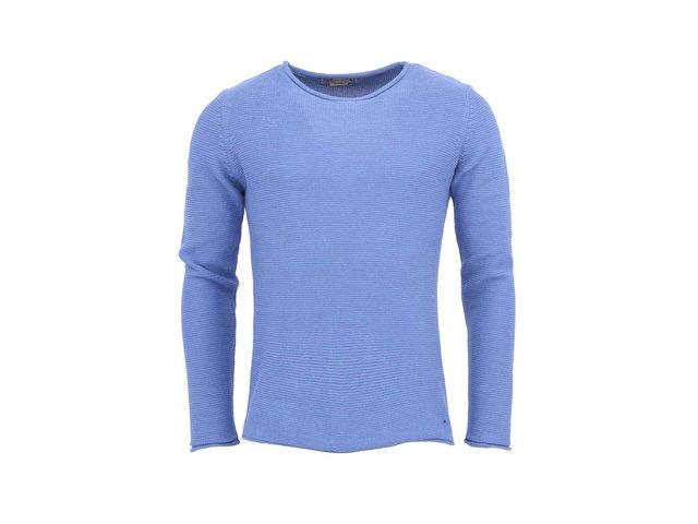 Modrý svetr !Solid