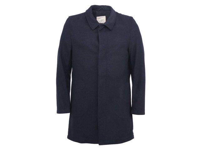 Tmave modrý kabát Selected Studio
