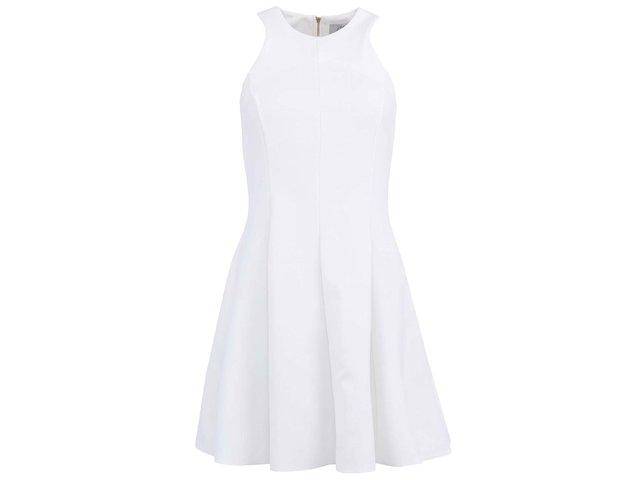 Bílé minimalistické šaty Closet