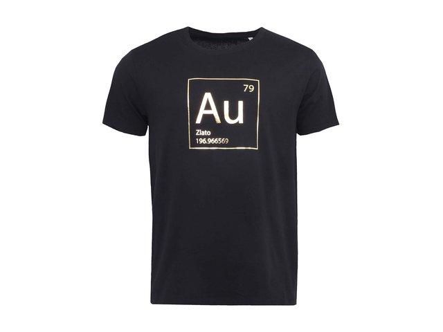 Černé pánské triko ZOOT Originál Zlato