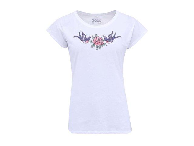 Bílé dámské tričko ZOOT Originál Tetování