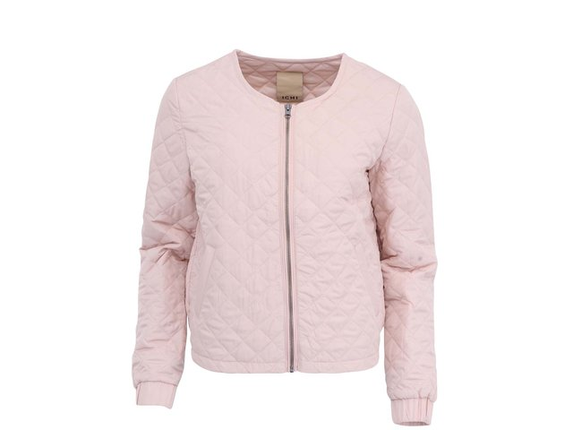 Světle růžová bunda ICHI Sigga