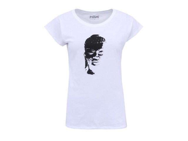 Bílé dámské tričko ZOOT Originál Asie