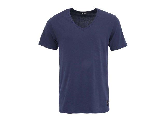 Tmavě modré triko ONLY & SONS Cave