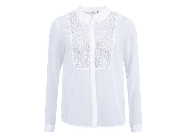 Bílá dámská košile ONLY Gaby