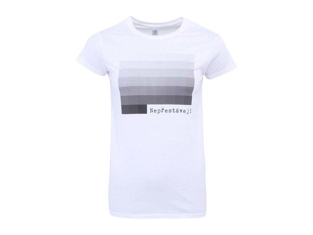 Bílé dámské tričko ZOOT Originál 50 Shades