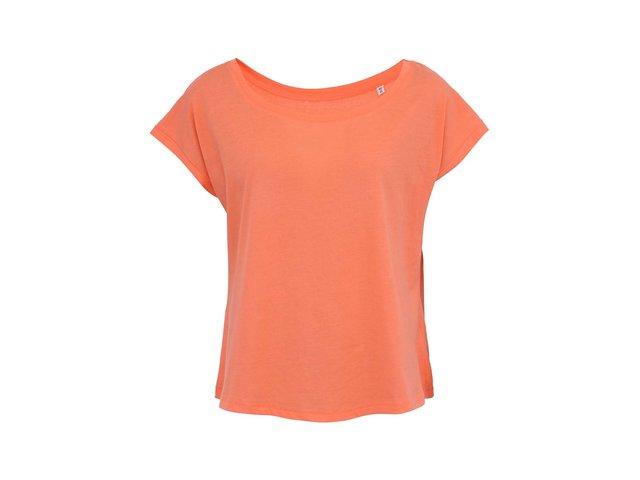 Korálové dámské volnější tričko Stanley & Stella Flies