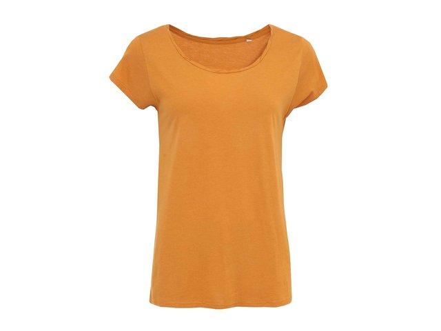 Okrové dámské volnější tričko Stanley & Stella Parades