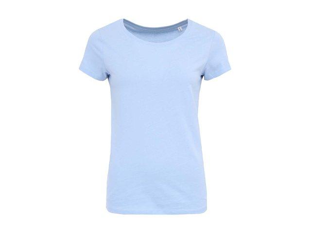 Světle modré dámské tričko Stanley & Stella Wants