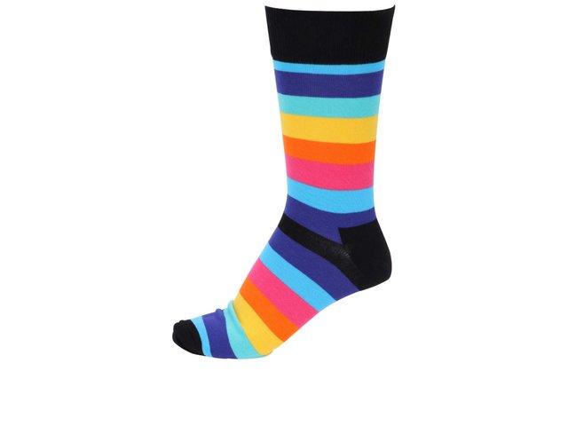 Barevné unisex pruhované ponožky Happy Socks Stripe