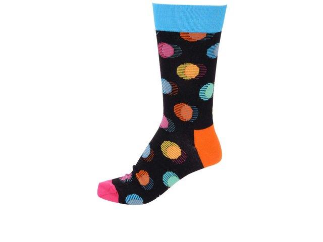 Barevné unisex ponožky s puntíky Happy Socks