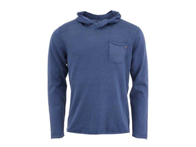 Tmavě modrý svetr s kapucou Jack & Jones Gerard