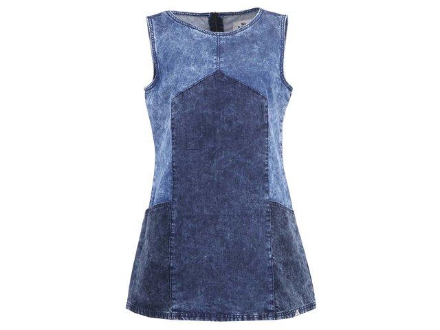 Světle modré džínové šaty Bellfield Perla