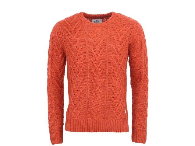 Oranžový pánský svetr Bellfield Comoro