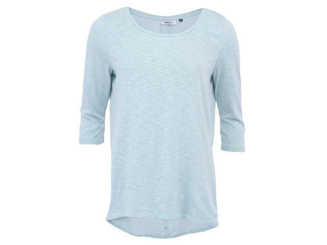 Mentolové tričko s 3/4 rukávy ONLY Casa