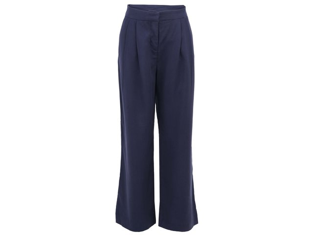 Tmavě modré široké kalhoty Vero Moda Sailor