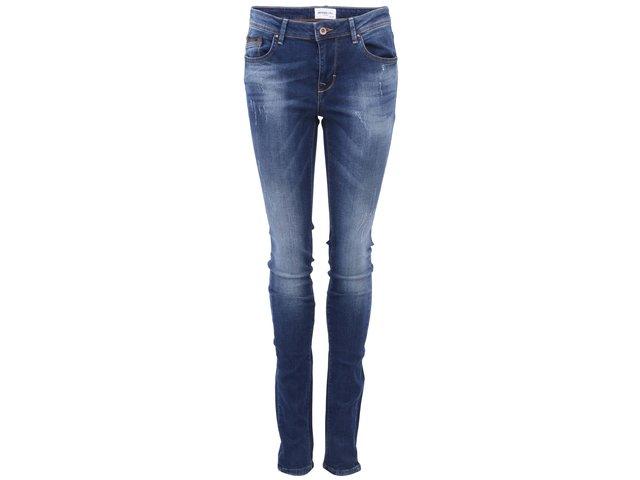 Tmavě modré skinny džíny Vero Moda Flashy