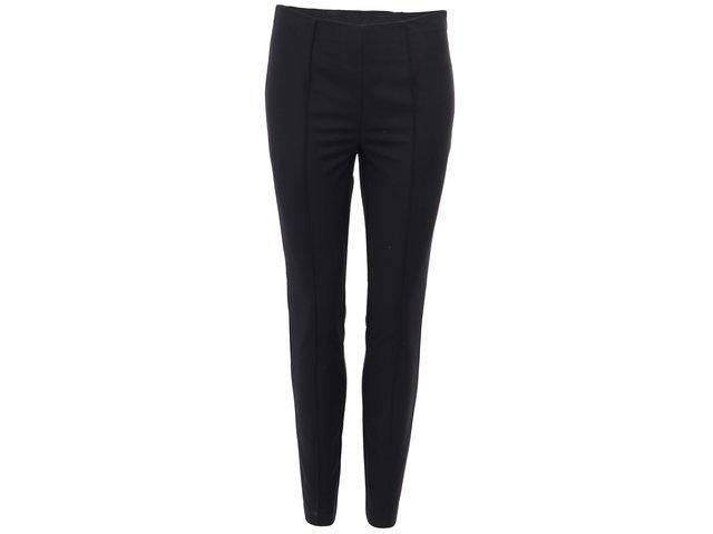 Černé kalhoty s vysokým pasem Vero Moda Charlie