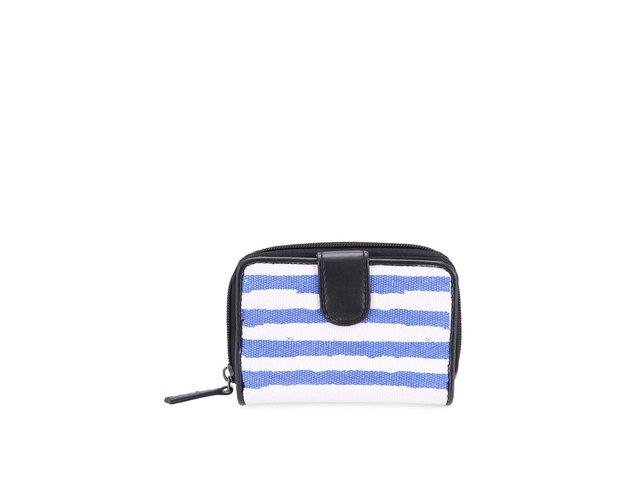 Modro-bílá pruhovaná peněženka Little Marcel Naguidol