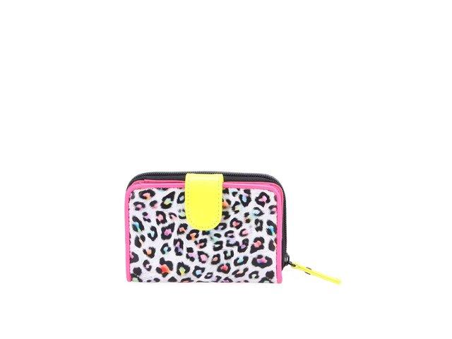 Růžová peněženka s leopardím vzorem Little Marcel Nagudo