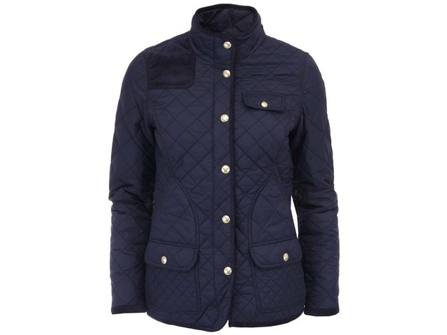 Tmavě modrá prošívaná bunda Tom Joule Calverly
