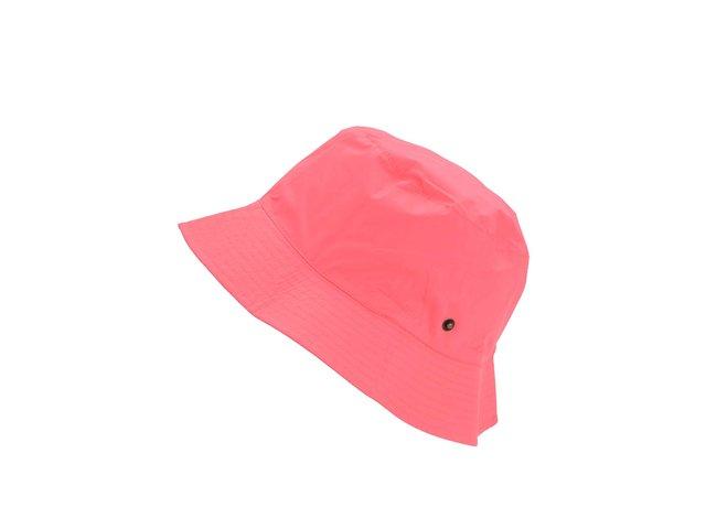 Růžový nepromokavý klobouk Tom Joule Rainy Day