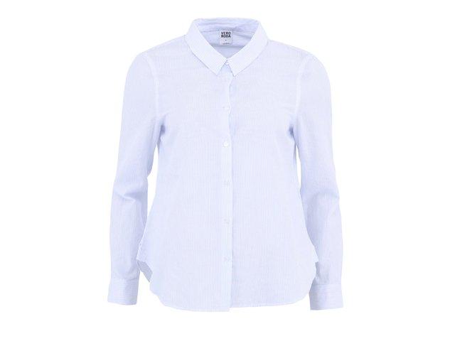Bílá košile s proužky Vero Moda New Blue
