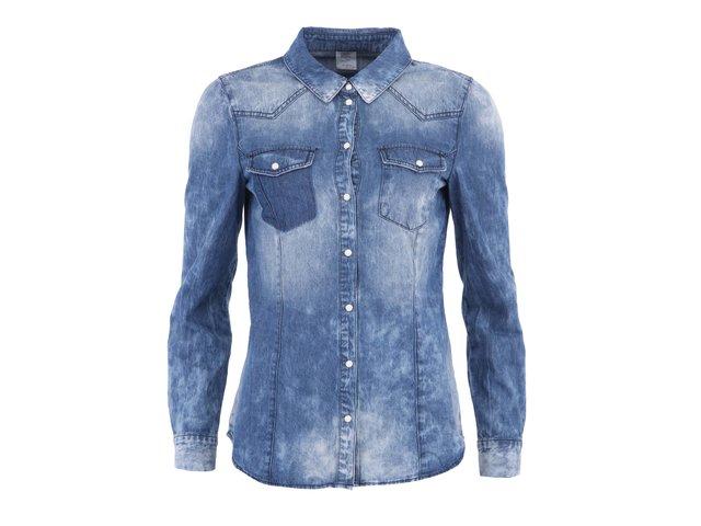Vintage modrá džínová košile Vero Moda Jessie