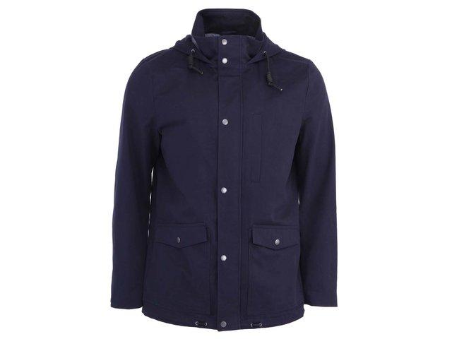 Tmavě modrá pánská bunda Selected Carlton