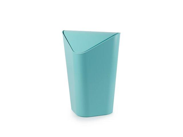 Tyrkysový rohový odpadkový koš Umbra