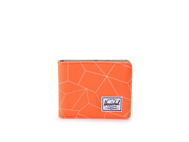 Neonově oranžová peněženka Herschel Roy