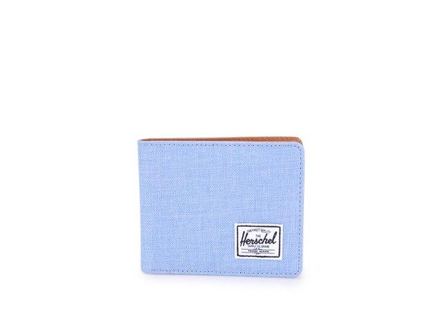 Světle modrá peněženka Herschel Hank