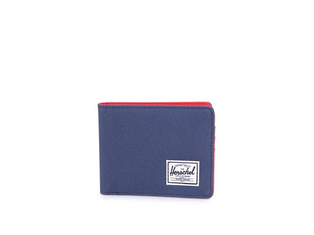 Tmavě modrá peněženka Herschel Roy