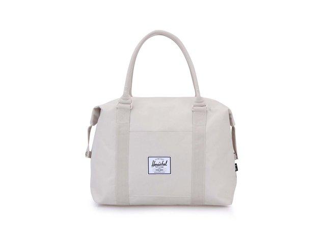 Krémová cestovní taška Herschel Strand