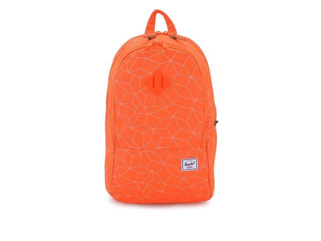 Neonově oranžový batoh Herschel Nelson
