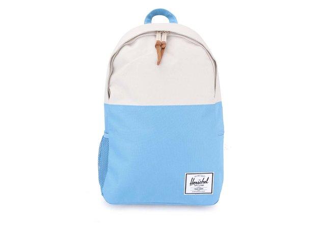 Krémovo-modrý batoh Herschel Jasper