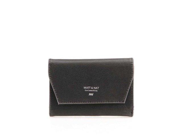Černá menší peněženka Matt & Nat Vera SM