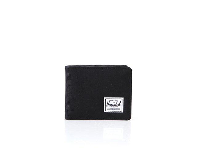 Černá peněženka Herschel Roy