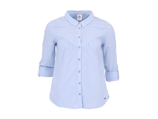 Modrá košile s 3/4 rukávy Vero Moda Kirsti