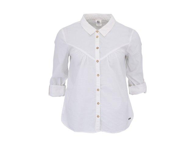 Bílá košile s 3/4 rukávy Vero Moda Kirsti