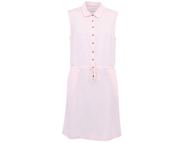 Světle růžové šaty b.young Herbiy